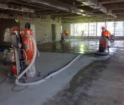 honestone concrete floor grinding