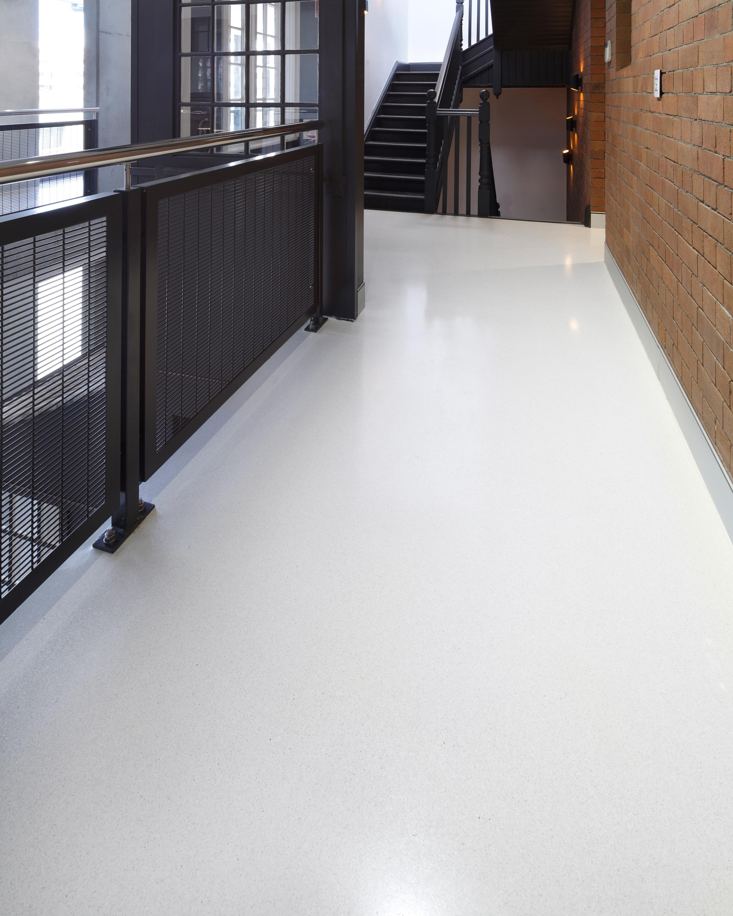 polished concrete flooring in pyrmont honestone