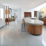 polished concrete floor in Dover Heights