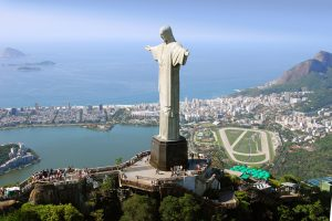 concrete statue Christ the Redeemer