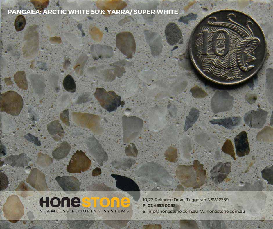 PANGAEA - ARCTIC WHITE 50% YARRA SUPER WHITE